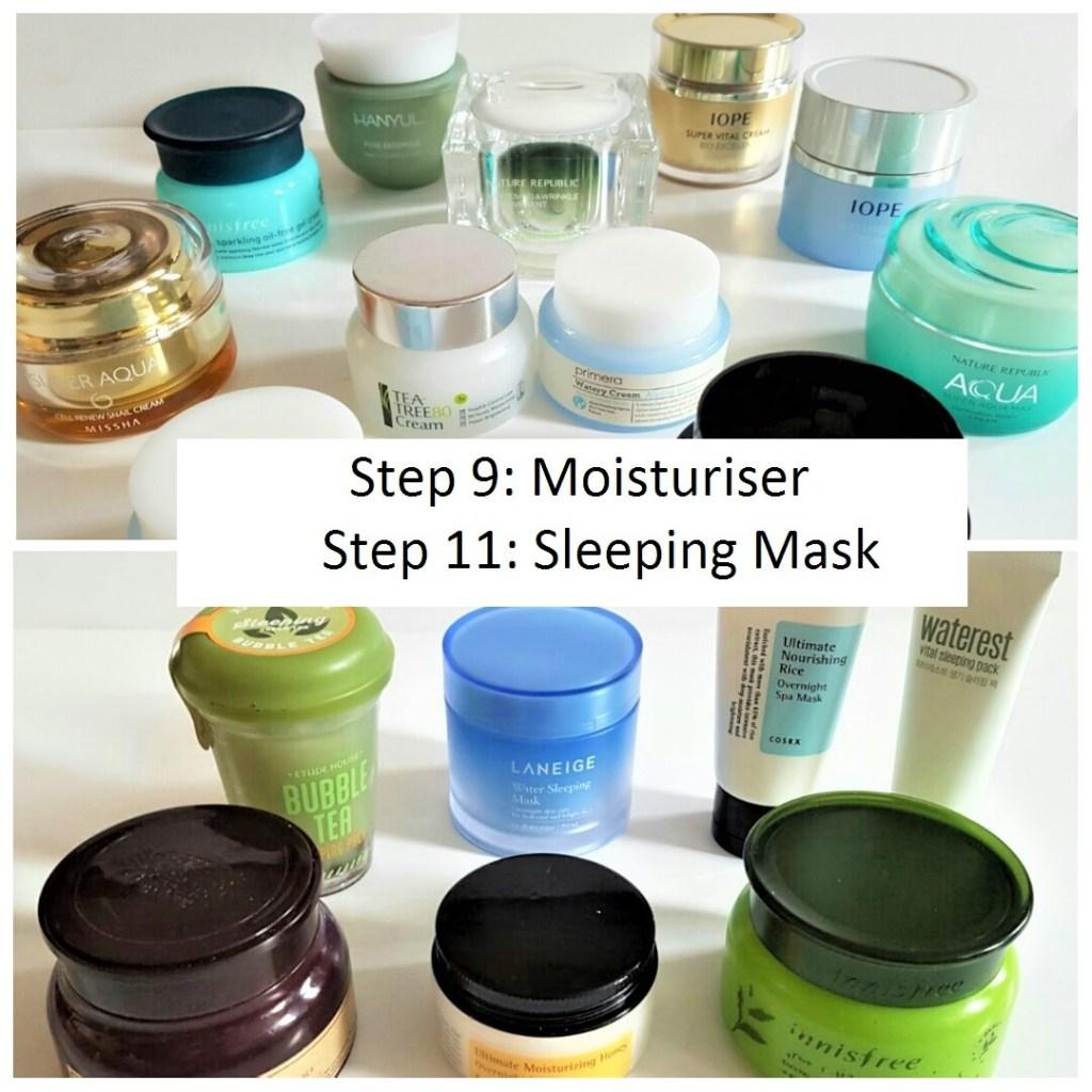 KOREAN SKINCARE ROUTINE 101: Part 4: Moisturiser & Sleeping Mask