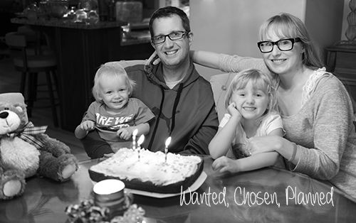 My family celebrating what would have been Zachary's third birthday. Photo copyright Alexis Marie Chute
