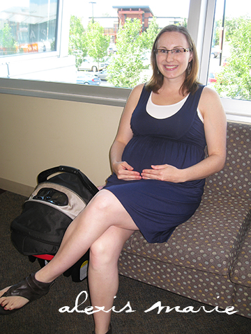 This is me pregnant with Zachary before we knew there were complications. I was so happy. We were waiting for the ultrasound to find out if my baby was a boy or a girl. This is a good memory. I like thinking about the good times, the normal times. They are treasures I hold close.