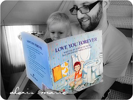 Love You Forever Robert Munsch book photos copyright Alexis Marie Chute Wanted Chosen Planned 1 blog
