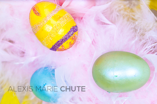 Easter Eggs photo copyright Alexis Marie Chute Wanted Chosen Planned