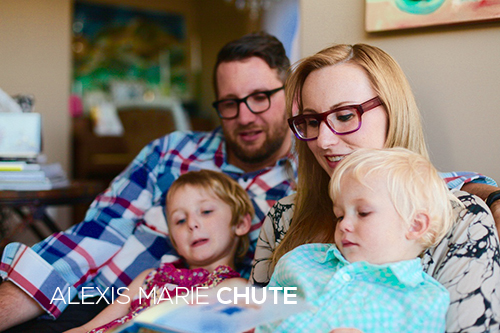 Alexis Marie Chute and family Wanted Chosen Planned baby loss blog
