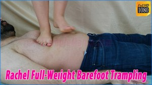 Rachel Full Weight Barefoot Trampling