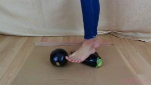 Megan Barefoot Eggplant Crush