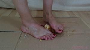 Barbara's Barefoot Cake Crushing