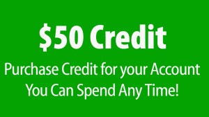 $50 Credit