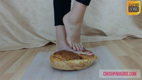 Crystal's Bare Feet Bread Crush