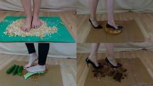 10 Full HD Food Crush Video Clips