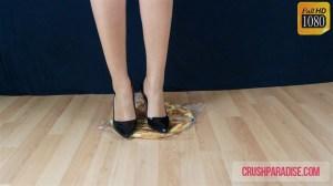 Crystal's Bread Crush in High Heels