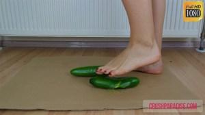 Tiffany's Barefoot Cucumber Crush