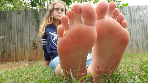 American Teen Sexy Feet