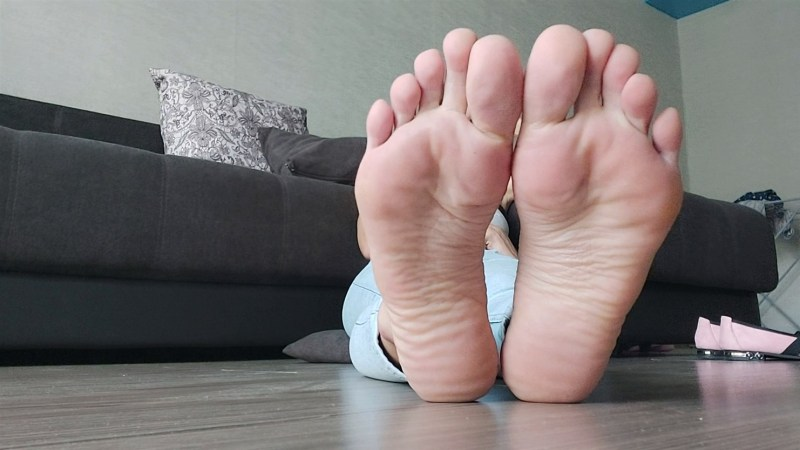 Sexy Pink Soles to Worship