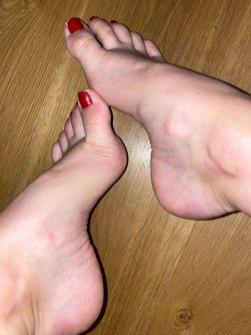 Sugar Toes Foot Model