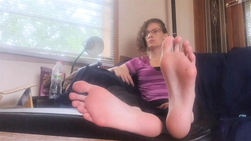 Worship Tarlees Long and Sweaty Feet