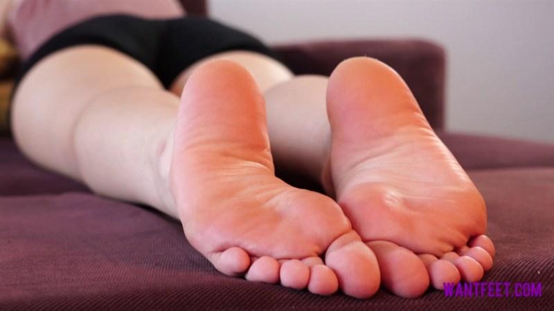 Close Up Stinky Feet