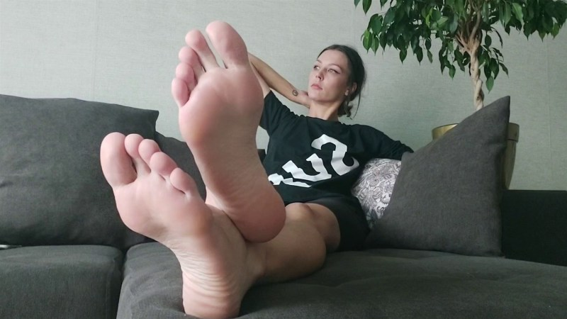 Sweaty Smelly Feet After Walk