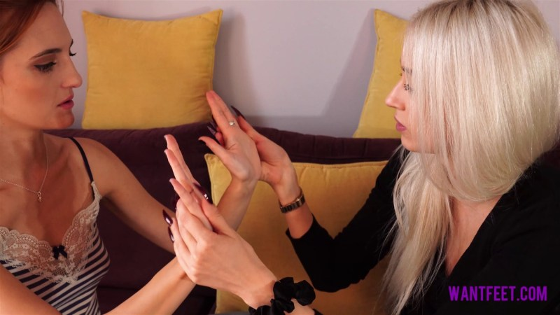 Hand Comparison Jasmine Polly