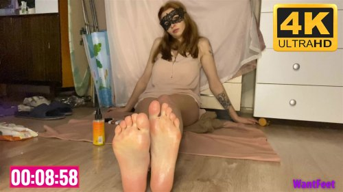 Russian Girls Oily Soles