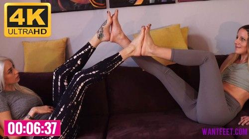 Sandra Jasmine Foot Comparison