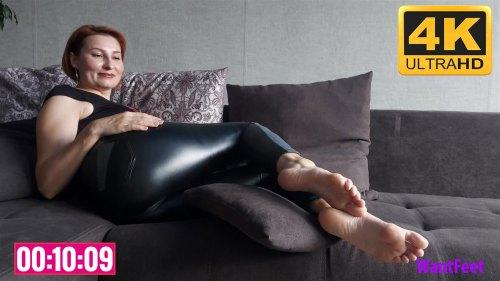 Sexy Mature Feet