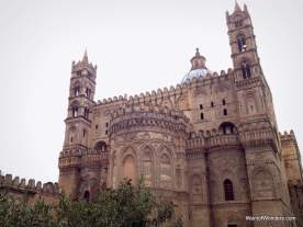 The most famous cathedral in Palermo