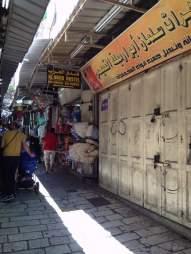 Inside the Old City's Muslim Quarter