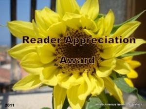 The Reader Appreciation Award