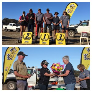 Super 1650 Podium and thanks to the Patmores - 2018 Dryandra Chase
