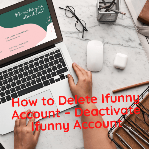 how to delete ifunny account
