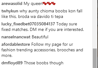 chioma boobs