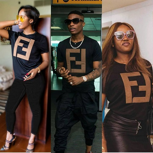 tiwa savage, chioma and wizkid