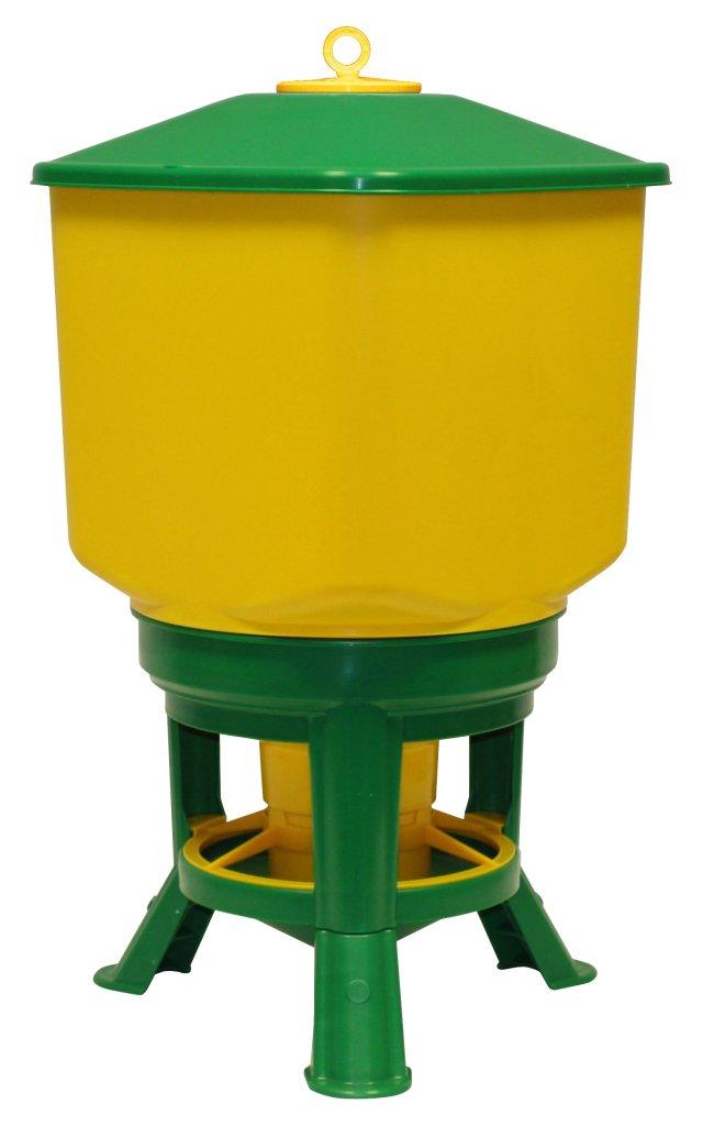 Novital 30kg Yellow & Green Feeder