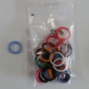 Leg Rings Size 12 Mixed