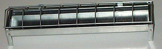 Novital Metal Feeder Trough 30cm