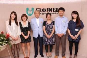 2011/07/04 日本財団の笹川会長と会談をブログに掲載していただきました。