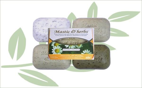 Mastiek natuurlijke zeep kamille en olijfolie