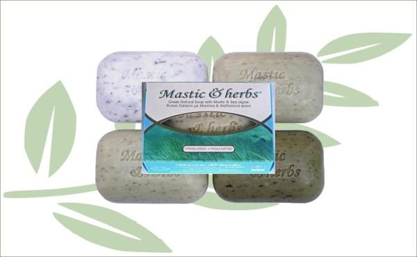 Mastiek natuurlijke zeep zeealgen