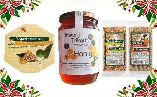 Kerstcadeau Griekse honing