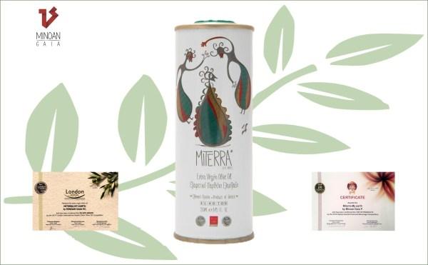 MiTerra extra vierge olijfolie 250 ml