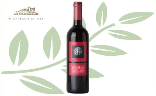 Michalakis vin de crete rood - droge rode tafelwijn