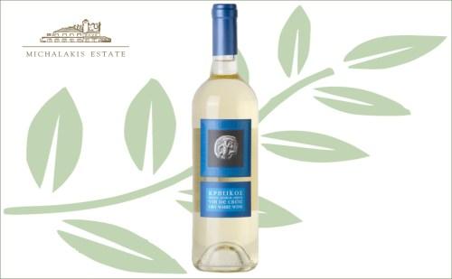 Michalakis vin de crete wit - droge witte tafelwijn