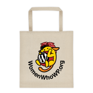 Women Who WP Tote bag