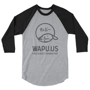 Wapu.us Gray 3/4 Sleeve