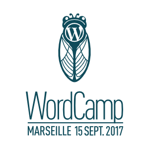 WordCamp Marseille 2017 Logo
