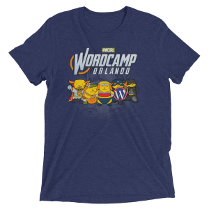 WordCamp Orlando 2017 Color T-Shirt