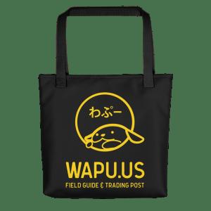 Wapu.us Black Tote