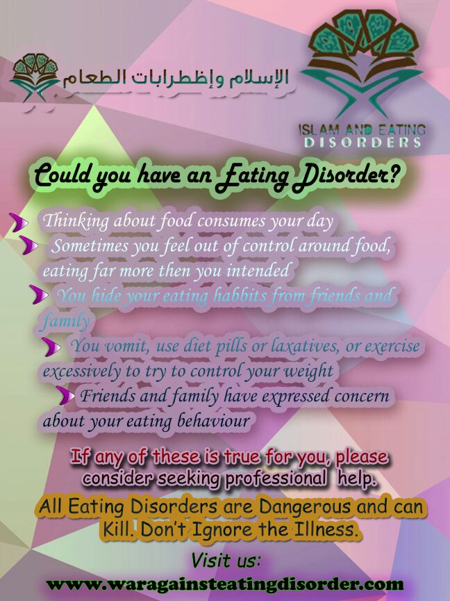 Could you have an Eating Disorder