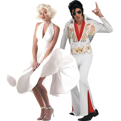 halloween-couples-costumes-elvis-presley-marilyn-monroe
