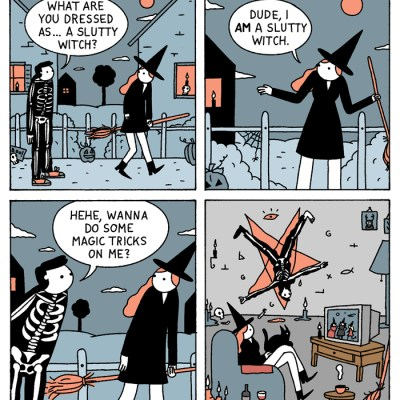 War and Peas - Slutty Witch - Elizabeth Pich and Jonathan Kunz