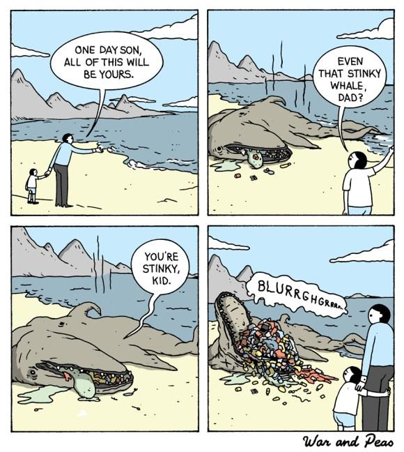 war-and-peas-stinky-kingdom comic by eliazbeth pich and jonathan kunz